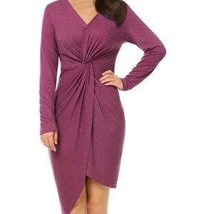 Mixfeer Wrap Dress NWOT Size L